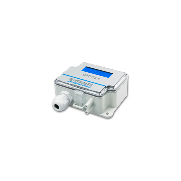 DPT-Flow er en flow transmitter 1000Pa med display