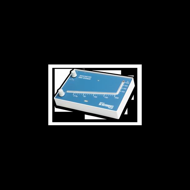 Skrårøremanometer MM200600 Pa