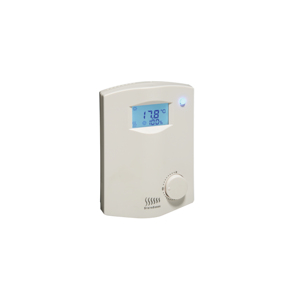 SRC200 kontroller med CO2 Temp sensor RH% BACnet