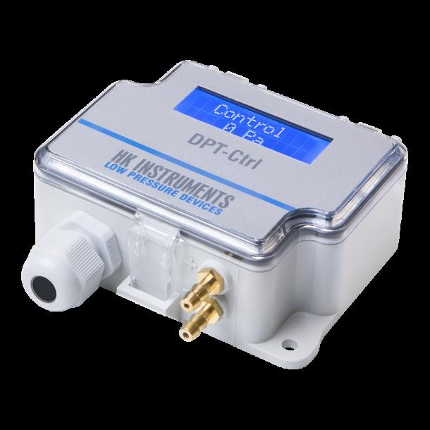 DPT-Ctrl  PID-regulator til differenstryk eller flow
