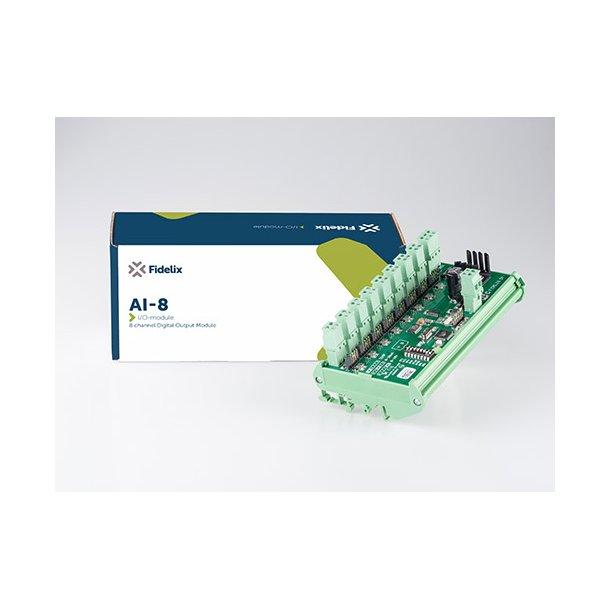 MODbus AI8 8 Kanal analog ind