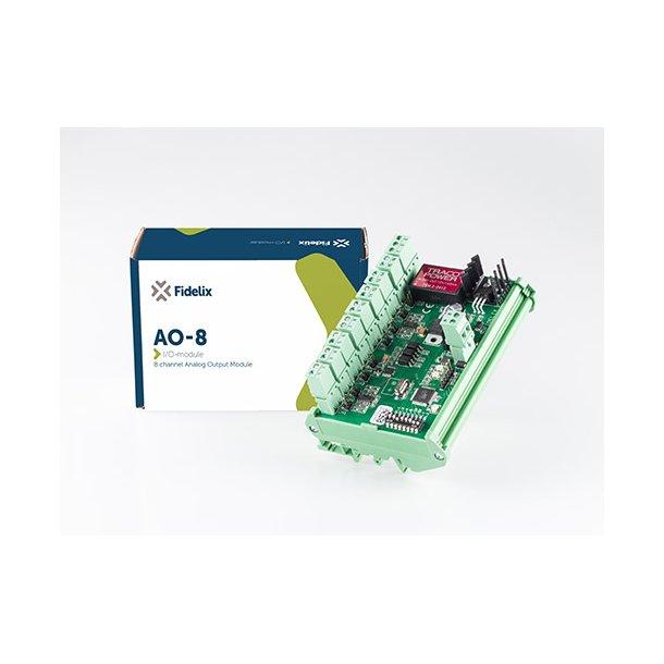 MODbus AO8 8 Kanal analog ud